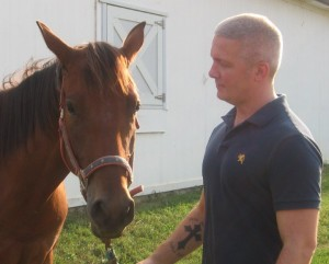 Contribute to equine assisted therapy horses love our volunteers